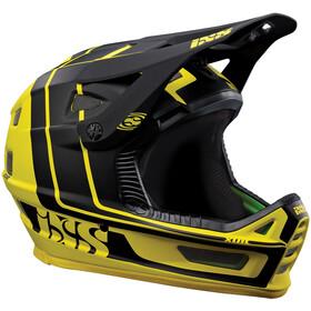 IXS Xult Fullface Helmet yellow/black